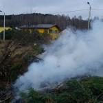 Prie įvažiavimo į Kauną, dūmų uždanga :)(video)