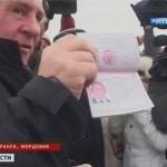 Rusijos pasas jau Žeraro Depardje rankose