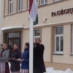 Pagėgiuose iškilmingai iškelta Mažosios Lietuvos vėliava