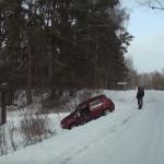 Būkite budrūs,šalutiniai keliai pavojingai slidūs