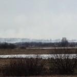 Kaliningrado srities Nemuno pakrantėje dūmų uždanga.Gal tai priedanga kontrabandai?
