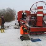 Kelionė potvynio ledu baigėsi tragiškai