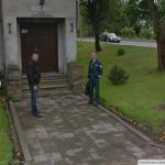 Google žemėlapis užfiksavo, kaip Pagėgių policininkai gerbia uniformą