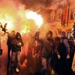 Maskvos jaunimas  rusus ragino revoliucijai(video)