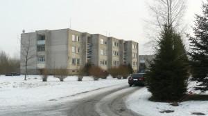 Šalia Pagėgių PSPC esančiame daugiabutyje yra šeši savivaldybei priklausantys butai.