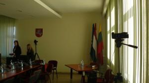 Kieno šitos videokameros Pagėgių savivaldybės posėdžių salėje nežino net meras