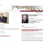 Kaliningrado universiteto absolventas V.Komskis vėl važiuoja į Kaliningradą bendradarbiauti