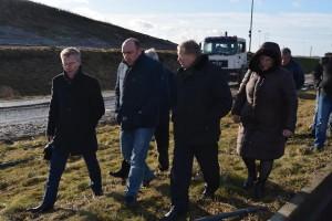 D.Rybakovas centre su Jurbarko meru ir Tarybos nariais lankėsi TRATC teritorijoje