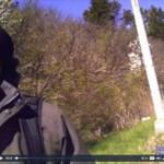 Videodrama JAV greitkelyje- policininko akistata su nusikaltėliu
