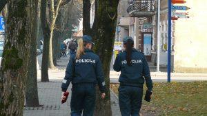 Policininkės merginos