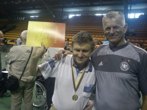 Naujas Pagėgių seniūnijos darbuotojas P.Juodis.(nuotraukoje dešinėje)