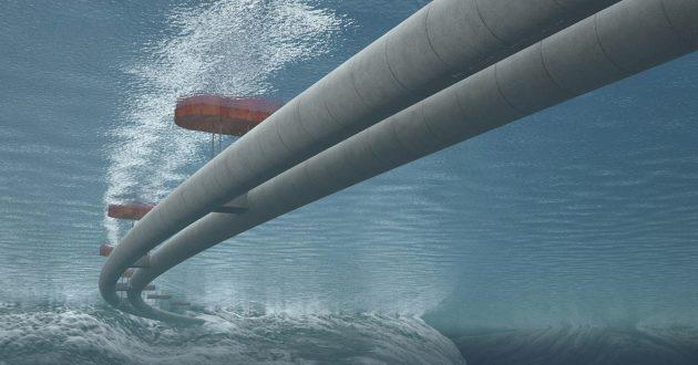 Norvegijoje – pirmasis pasaulyje plaukiojantis tunelis?