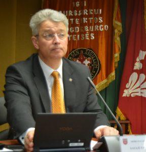 saulius Lapėnas Jurbarko vice-meras