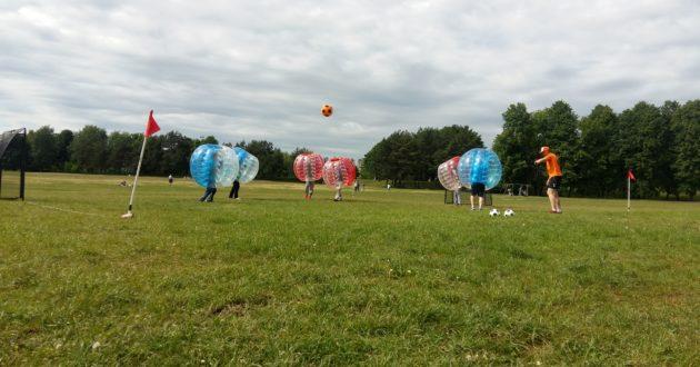 Funbolas- teigiamų emocijų lavina ir žaidžiantiems, ir žiūrintiems