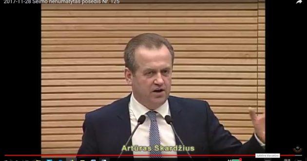 """A.Skardžius: """"Lietuvos Energija"""" paruošė Landsbergiui kalėdinę dovaną"""