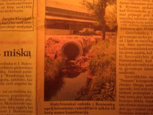 Archyvas, kaip uždengė nuotekų upelį ties Komskio restoranu,o turėjo mieste Tolumoje matosi restoranas