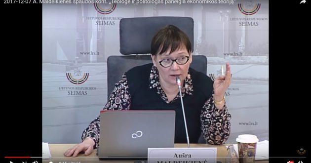 A.Maldeikienė apie lengvatą ūkininkams: Seime bus bandoma pakeisti viso pasaulio ekonominę teoriją