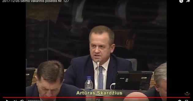 A.Skardžius prabilo apie politinį terorizmą Lietuvoje(video)