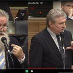 Nacionalinio saugumo ir gynybos komiteto pirmininkas metė rimtus kaltinimus dviems Seimo nariams
