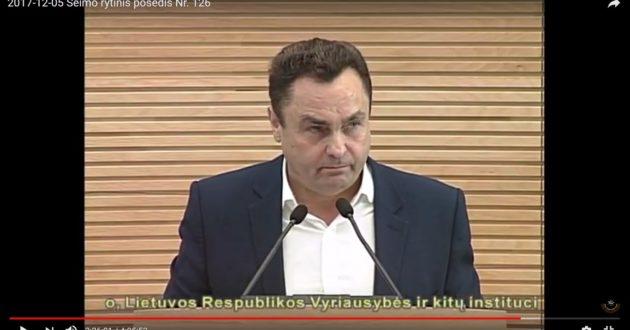 P.Gražulis įvardino, dėl ko iš tikrųjų puolamas A.Skardžius, A.Anušauskas pasiūlė jam nusipirkti melo detektorių.(video)