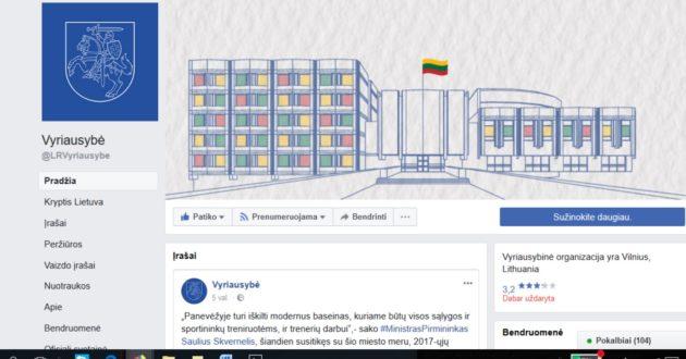 Lietuvos vyriausybė niekina Valstybės simbolį?