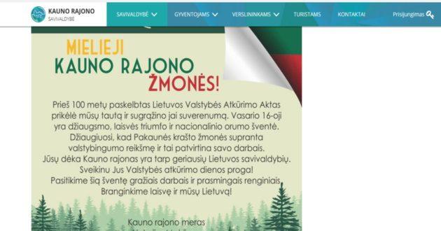 Informacinių technologijų priežiūra Kauno rajono savivaldybei kainuoja daug