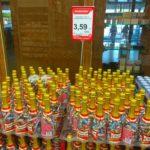 Alkopramonės triukai- butelis su saldainiais