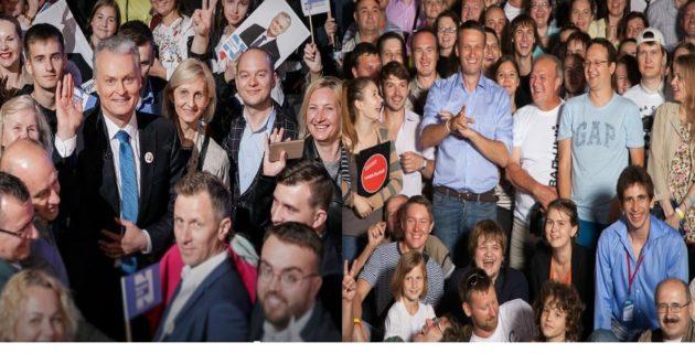 Rusijos opozicijos lyderio A.Navalno ir G.Nausėdos kampanijos viešinimas labai jau panašus