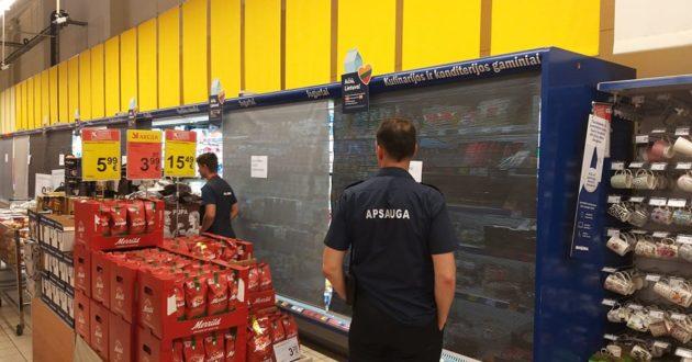 Kaune neatlaikė Maximos šaldytuvai- uždarytas visas skyrius