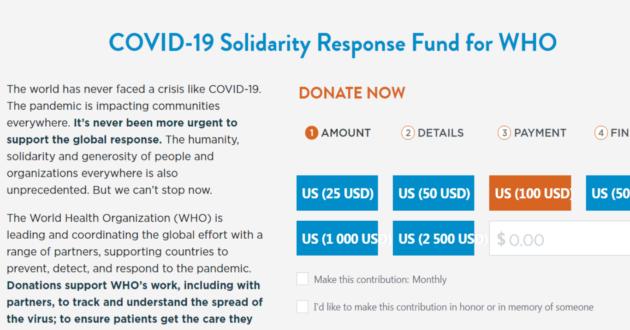 Po JAV pareiškimo atsisakyti remti PSO ši organizacija prabilo apie demonus, tikisi viso pasaulio žmonių dosnumo.