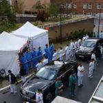 Neįprastas protestas Briuselyje, ligoninės slaugytojai atsuko juos lankiusiai premjerei nugaras(video)