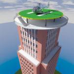 Santaros klinikose už 1.7 mljn. statys sraigtasparnių nusileidimo aikštelę