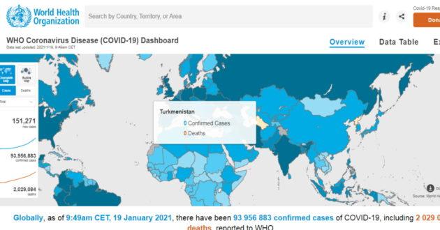 Turkmėnijoje nei vieno patvirtinto koronaviruso atvejo, kodėl kenčiantys nuo pandemijos nesikreipia į šią valstybę?