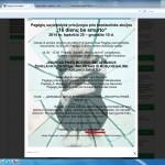 Gruodžio 1d.Pagėgių politikai mokinsis nenaudoti psichologinio smurto prieš savivaldybės gyventojus