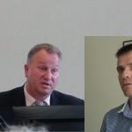 Ginčai tarp E.Kuturio ir V.Komskio Pagėgių Tarybos posėdyje įprastas dalykas(video)
