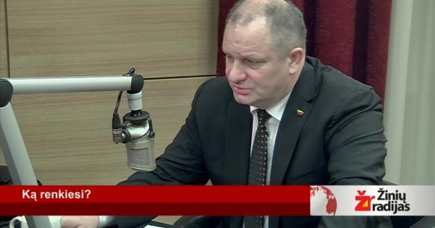 K.Komskis žinių radijuje