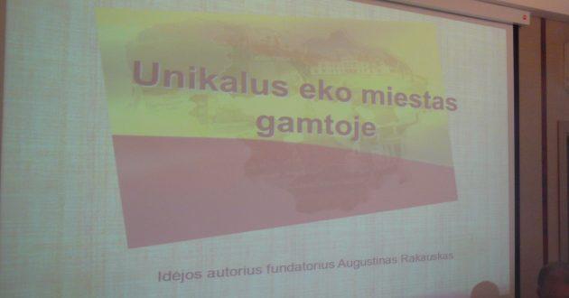 Kauno rajone planuojama statyti 700 kotedžų miestą išeivijai, bet tik pažangiajai.(video)