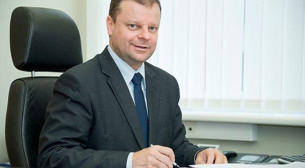 S.Skvernelis antrajame rinkimų ture kviečia balsuoti už Daivarą Rybakovą