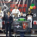 """""""Rytų kovotojo"""" sportininkų pergalės Panevėžyje"""