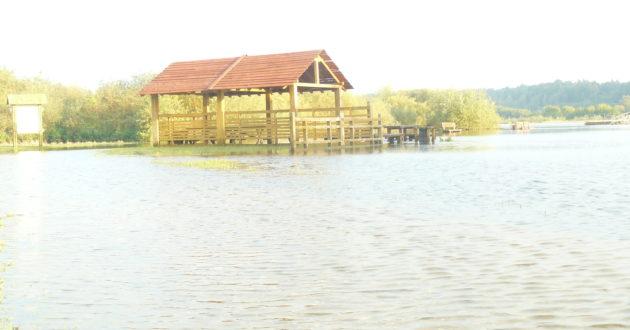 Rudeninis potvynis semia poilsiavietes prie Nemuno
