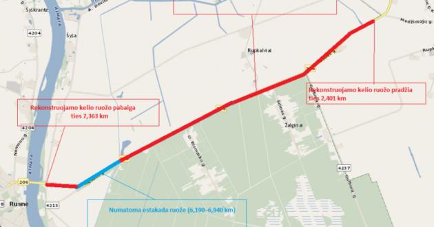 Rusnės estakada: pasirašyta sutartis dėl dešimtmečius trukusios problemos sprendimo