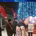 Prie naujametinės eglės Šiauliuose antisemitizmo akcija ar hibridinio karo apraiškos?