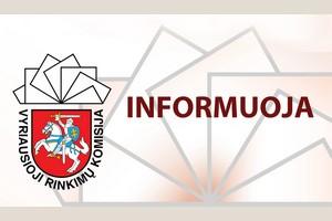 VRK atsakymas į pasiūlymus viešinti rinkimuose dalyvavusių  rinkėjų sąrašus