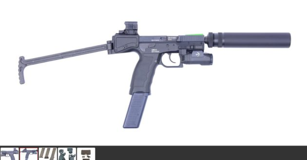 Lietuva iš Šveicarijoje registruotos įmonės už beveik milijoną perka pistoletų-kulkosvaidžių
