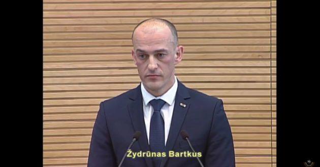 Naujas kandidatas į STT vadovus Ž.Bartkus :sieksiu labiau atkreipti dėmesį į neteisėtus praturtėjimus