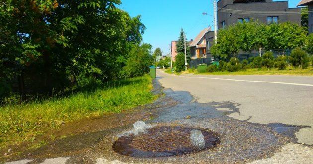 """Kaip """"Kauno vandenys"""" vandens kokybę gerino- drumzlinas vanduo paleistas į gatves"""