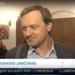 D.Jančaras Raudondvario pilyje pasakė nuomonę apie Prezidento rinkimus