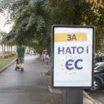 Ukrainiečiai aktyviai kviečiami į NATO ir ES