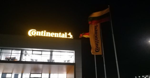 Continental gamykla Kauno rajone planuojama atidaryti iki Naujų metų