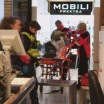 Į Kėdainių Maximą skubėjo Tarnybos, prekybos centre nuvirto vyras.